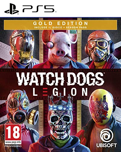 Watch Dogs Legion - Gold Edition - PlayStation 5 [Importación italiana]