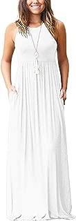 Best summer sleeveless maxi dresses Reviews