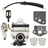 Nick88am Carburetor Kit for Shindaiwa 22C 22T 22F T220 Trimmers Replace 67000-81010 Carb
