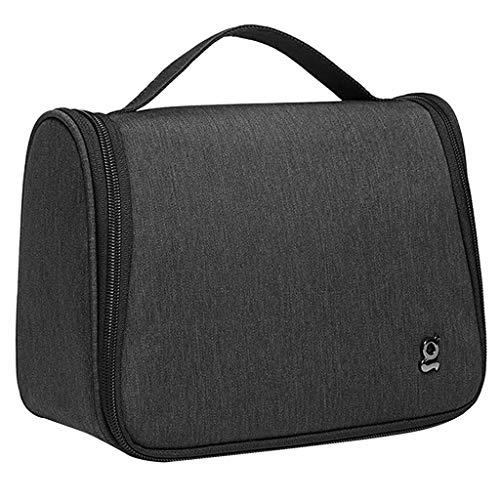 yotijar Bolsa de desinfección esterilizadora UVC caja esterilizadora UV Portátil Bolsa de limpieza esterilizadora UV con alimentación USB 99% bolsa de aseo - Negro