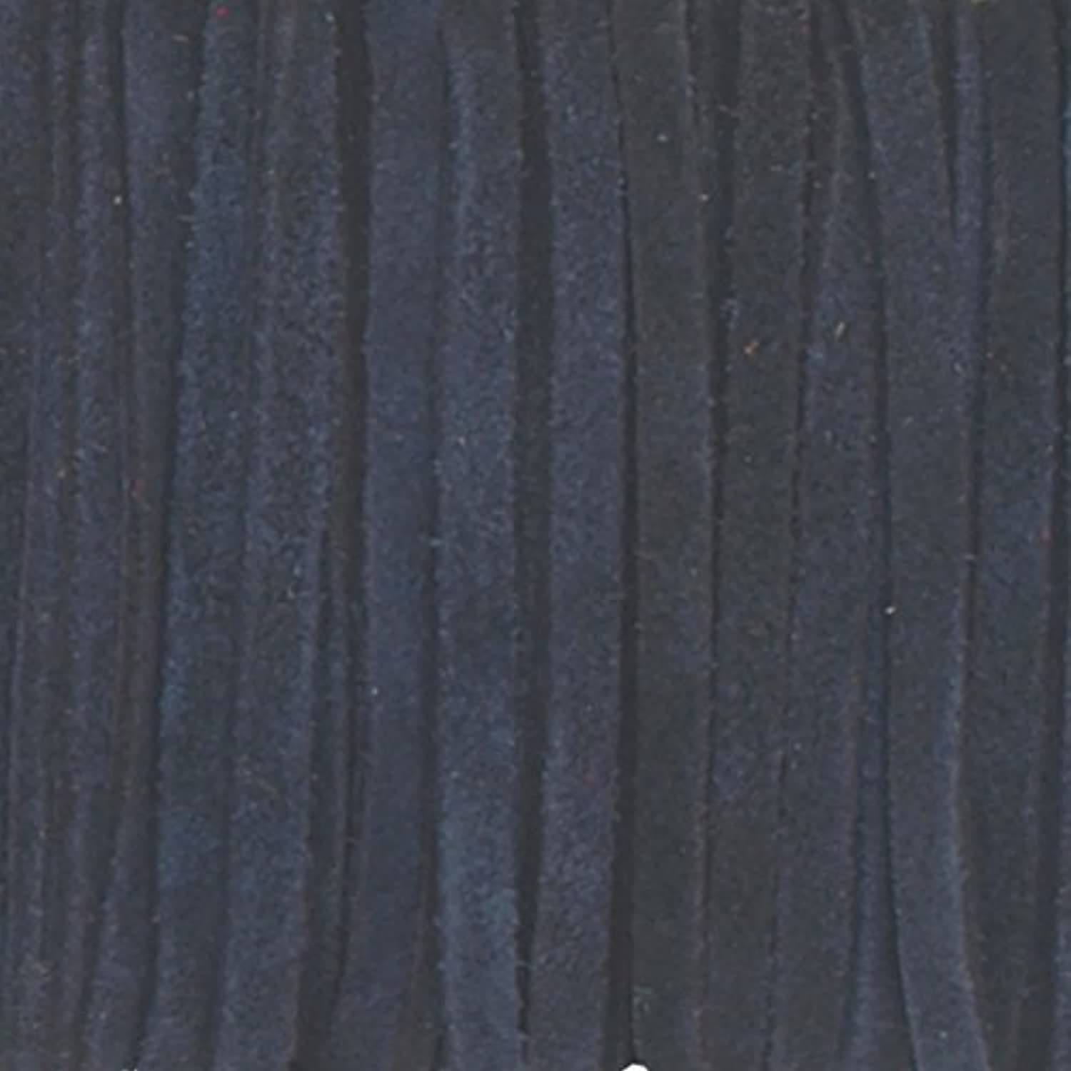 Navy Blue Genuine Flat Suede Leather Cord Lace, 3mm width 25 Meter Spool