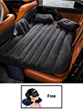 Tishnagi Designer Multifunctional Inflatable Car Bed Mattress with Two Air Pillows, Car Air