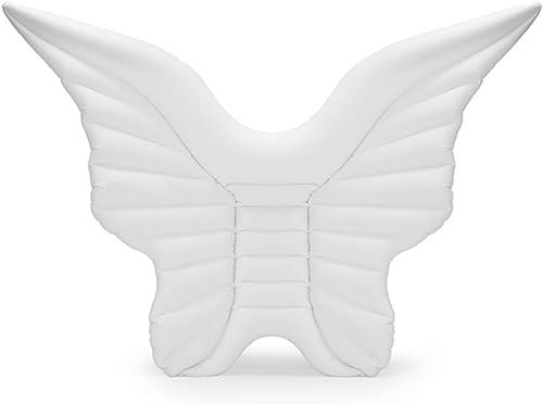 Yeying123 Aufblasbares Pool Float, Aufblasbarer Schmetterlingsflügel, Der Reihensitz Für Erwachsene U. Kinder Schwimmt,Weiß