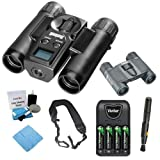 Bushnell ImageView 10x25 Roof Binocular w/VGA Camera, Prism Binocular & Kit