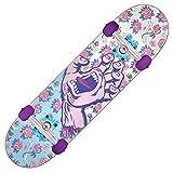 "Santa Cruz Skateboards Complete Floral Decay Purple 7.75"" x 30"" Assembled"