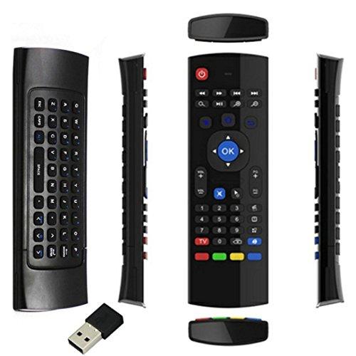 Malloom más nuevo Ratón Aire teclado de control remoto para 2.4G XBMC Android TV Box