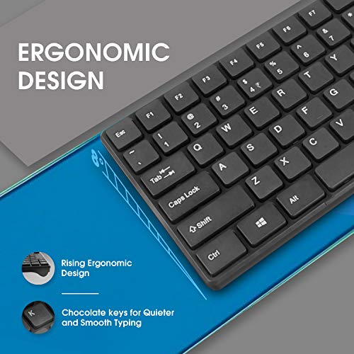 Amkette Primus Wireless Keyboard & Mouse Combo