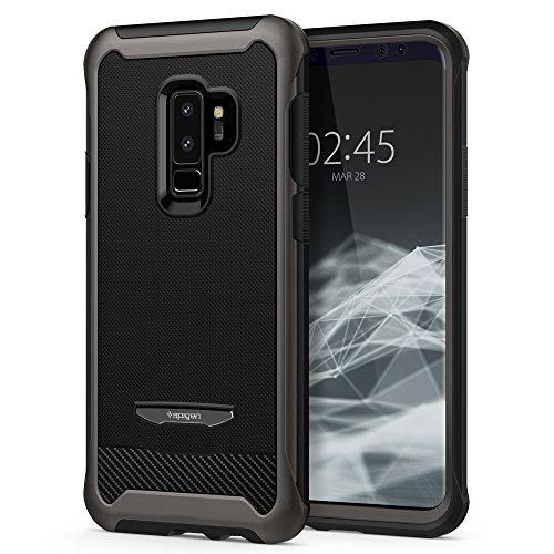 Spigen [Reventon] Samsung Galaxy S9 Plus Hülle (593CS22978) 360° Vollschutz Hülle mit Panzerglas Premium Handyhülle 3-teilige Schutzhülle Case (Gunmetal)