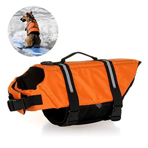 Jayboson Hundeschwimmweste Doggy Aqua-Top Schwimmweste Schwimmtraining Schwimmhilfe für Hunde Vest (Größe XS)