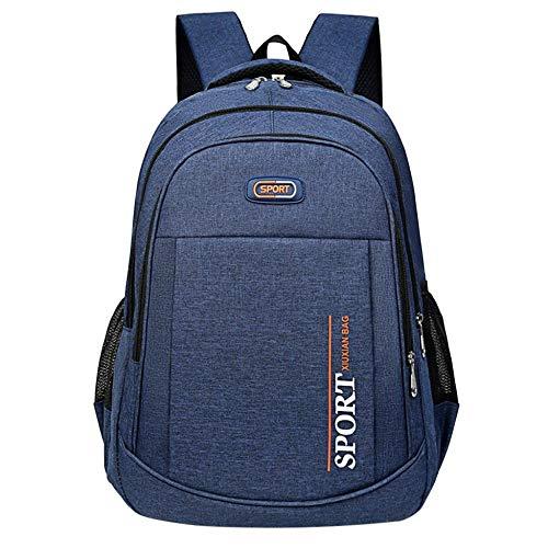 Backpack Bag Men Backpack Oxford Male Travel Bag Backpacks Fashion Men And Women Designer Student Bag Laptop Bag High Capacity Backpack #R15 Blue