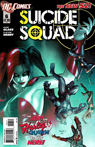 Suicide Squad #6 (New DC 52, Rare Harley Quinn Origin Issue, Deadshot) 1st Print Issue Six