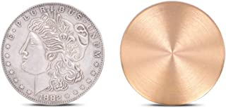 Expanded Shell (Morgan Dollar Version) Magic Tricks for Appearing/Disappearing Coins Magic Gimmicks Magician Accessories