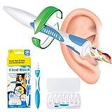 Nettoyeur Oreille Facile,Safe Spirale Ear Wax Remover Ensemble d'Outils, Avec 16pcs...