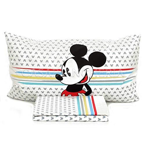 Juego de sábanas Disney Caleffi Mickey Camp