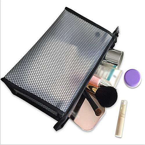 PVC Transparent Cosmétiques Sac Femmes Voyage Waterproof Des Sacs Trousse De Toilette Organisateur De Maquillage