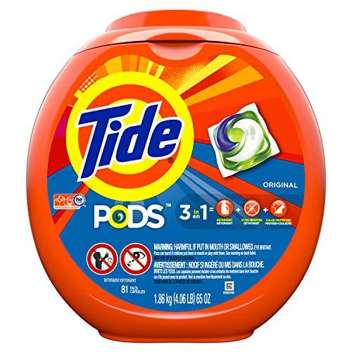 Tide PODS Laundry Detergent Pacs Original - 81ct