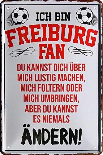 Schild aus Metall im Stra/ßenschild-Stil Tottenham Hotspur verschiedene Mannschafts-Designs zur Auswahl 40 x 18 cm farbig offizieller Fu/ßball-Fanartikel