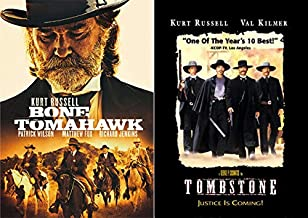 The Wild Wild West With Kurt Russell Double DVD pack: Bone Tomahawk & Tombstone