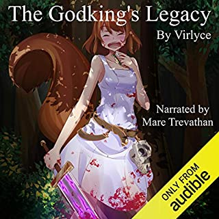 The Godking's Legacy                   By:                                                                                                                                 Virlyce                               Narrated by:                                                                                                                                 Mare Trevathan                      Length: 16 hrs and 55 mins     1,397 ratings     Overall 4.4