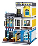 Bloques de construcción para casa de café modular, 1278 bloques de construcción