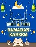 Ramadan Kareem: Ramadan Daily Planner, 2021 Ramadan tracker to track Prayers, Fasting Quran recitation Suhoor and Iftar.. Write Goals and Dua and take Notes