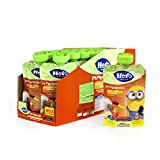 Hero Baby Mi Merienda - Bolsita de Yogurín con Plátano y Fresa, Sin Azúcares Añadidos, para Bebés a Partir de los 12 Meses - Pack de 18 x 100 g