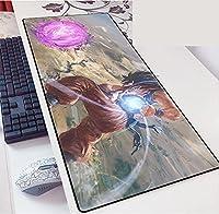 大鼠标垫 电脑 周边设备 动漫 漫画 游戏 ドラゴンボール龙珠Dragon Ball 鼠标 鼠标垫 键盘垫 超大型 防水 防滑 时尚 萌 可爱 商品 900X400X3MM-B_900*400*3MM
