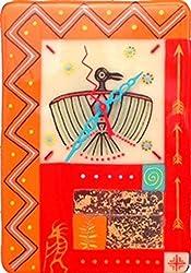 Thunderbolt Tribal Handmade Clock ~ tribal artwork designs