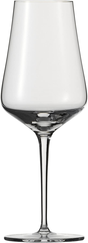 7,2x7,2x22,8 cm con Cristallo Trasparente con Piedini Schott Zwiesel 7544270 Sottile Scatola di 6 Bicchieri Cristallo Trasparente