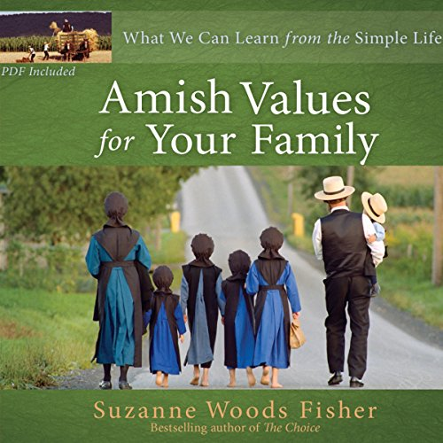 Amish Values for Your Family audiobook cover art