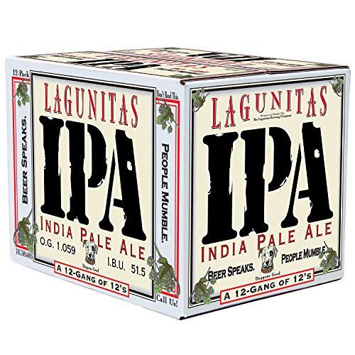 Lagunitas Cerveza Americana IPA - Paquete de 24 x 355 ml - Total: 8520 ml
