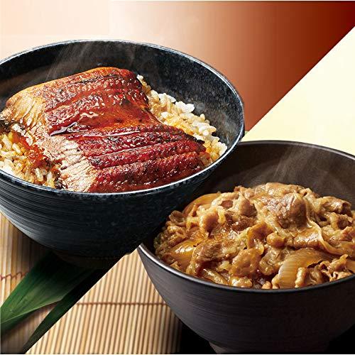 (うなぎ6食と牛丼5食)【くら寿司】 うなぎの蒲焼 無添加だれ・山椒付き 65g/食 小分けパック 牛丼1食165g 7種の魚介だし