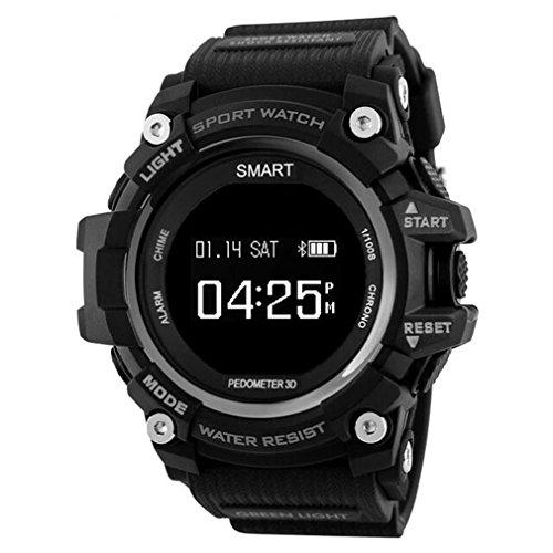 Smart Watches Hombres Impermeable IP68 Actividad Fitness Tracker Pulsómetro Monitor Bluetooth 4.0 Hombres al Aire Libre Reloj Mujeres iOS Android EX16 Deportes Relojes para Hombre