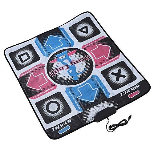 Exliy Electronic USB Tanzmatten rutschfeste, Haltbare, Verschleißfeste Tanzmatte für Bodybuilding und Fitness