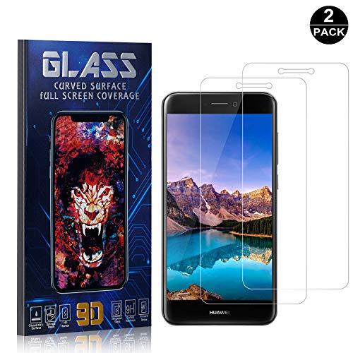 Bear Village/® Verre Tremp/é pour Huawei P8 Lite 2017 3 Pi/èces Anti Rayures Film Protection /Écran Vitre Duret/é 9H Protection en Verre Tremp/é /Écran pour Huawei P8 Lite 2017
