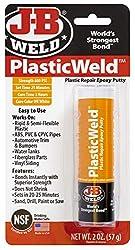 top rated JB Welding 8237 Plastic Welding Plastic Repair Epoxy Putty – 2 oz. 2021