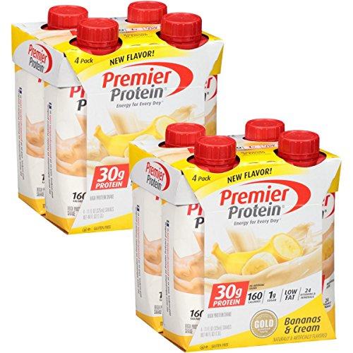 Premier Protein Shakes, Bananas & Cream