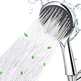 Handheld Shower Head High Pressure with Hose, Wodgreat 5 Spray Settings Massage Spa Hand Held Showerhead with Powerful Shower Spray Bathroom Accessorie Bracket, Flow Regulator - Chrome