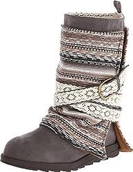 cheap Women's Nikki Boots MUKLUKS – Gray