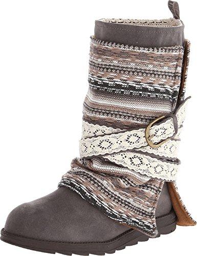 MUK LUKS Women's Nikki Boots - Grey