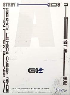 STRAY KIDS GO LIVE (Standard Ver.) the First Album C Type CD+Photobook+Photocards+4 Cuts Film+Secret Card+Unit Lyric Leafl...