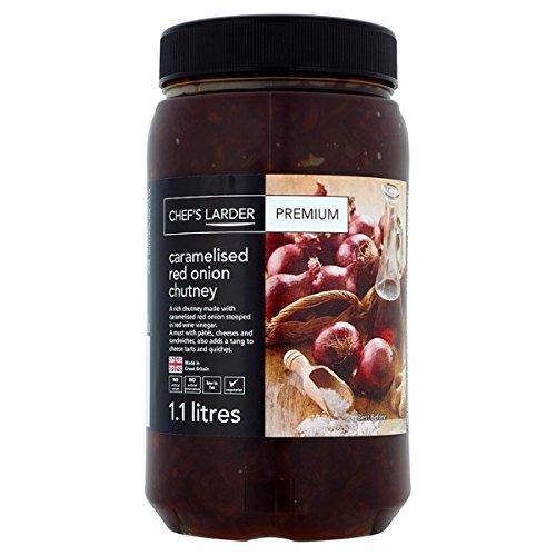 Chef's Larder Premium caramellato cipolla rossa Chutney 1,1 litri