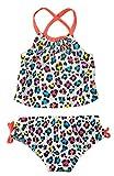 Osh Kosh B'Gosh Baby Girls Animal Print 2pc Tankini Swimsuit Set (12M)