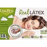 Travesseiro Real Látex, Duoflex, 050 x 070 x 014 cm