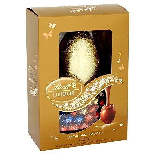 Lindt - Lindor - Milk Easter Egg with Assorted Eggs - 215g