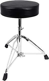 Rockville RDS30 Deluxe Thick Padded Foldable Drum Throne...