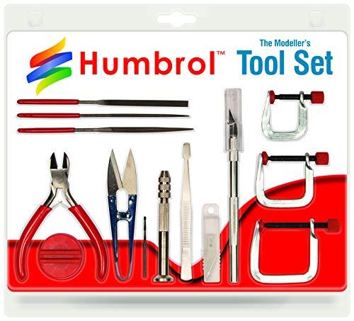 Humbrol - AG9159 - Accessoire - Maquette - Coffret Outillage Moyen Modèle