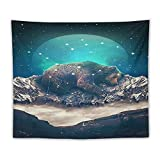 """Under The Stars Ursa Major Tapestry Wall Hanging for college Bedroom aesthetic Decor for Men Teen Girls And Fans 50""""x60"""""""