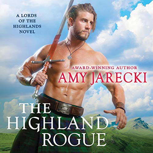 The Highland Rogue audiobook cover art