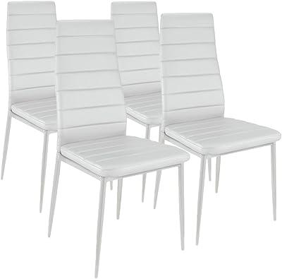 Lot de 4 chaises Stratus Blanc